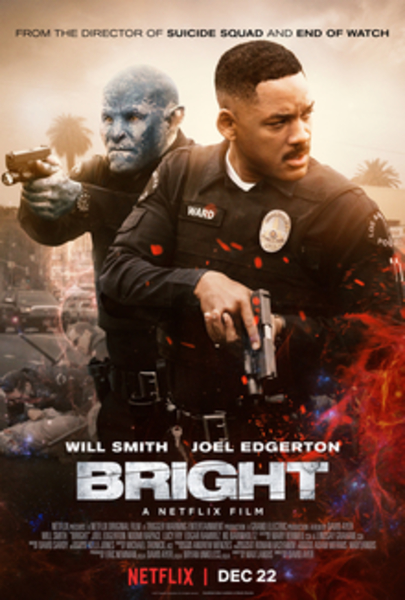 Bright poster  - Bright- Will You Watch the Sequel?