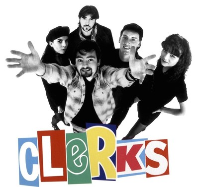 Clerks Movie Poster crop