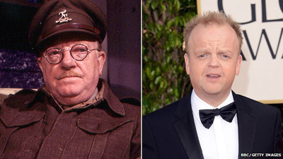 Dad's army, arthur lowe, toby jones