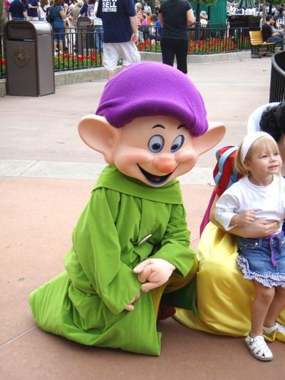 disney, dopey, snow white and the seven dwarves, disney land, disney world