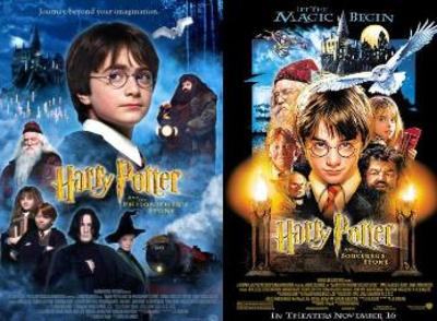 Harry Potter And the Philosopher's Stone Movie Posters