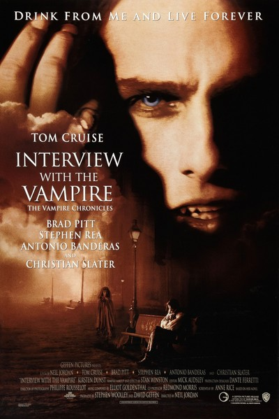 Interview with a Vampire Movie Poster