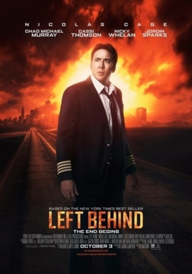 Left Behind movie, Left Behind, Nicholas Cage, Christian movie