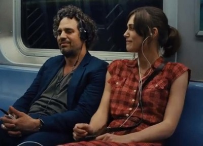 Mark Ruffalo Kiera Knightley in Begin Again
