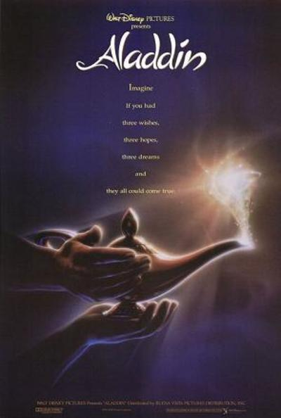 Poster for Disney's Aladdin