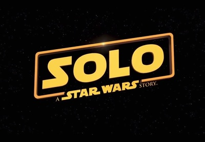 Solo A Star Wars Story title card.