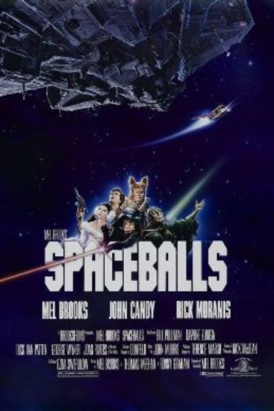 Spaceballs theatrical release poster