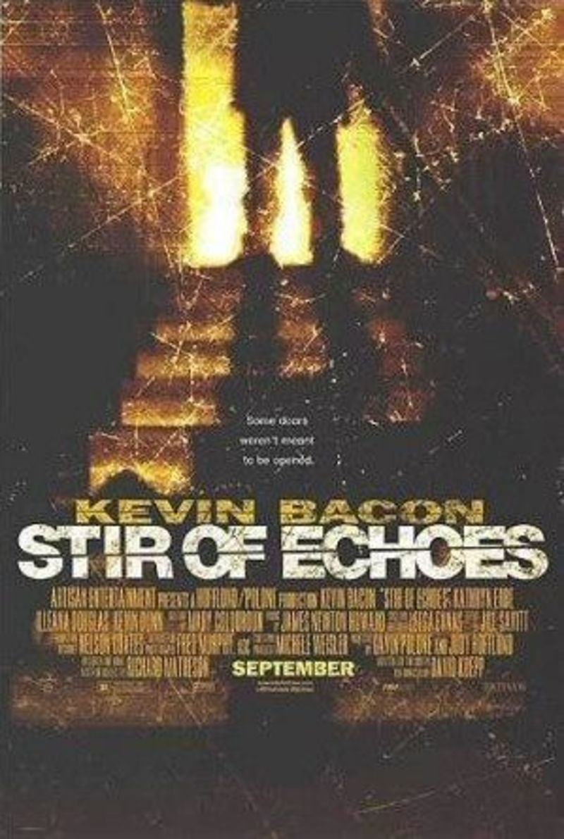 Stir of Echoes, ghost story, ghost movie, kevin bacon