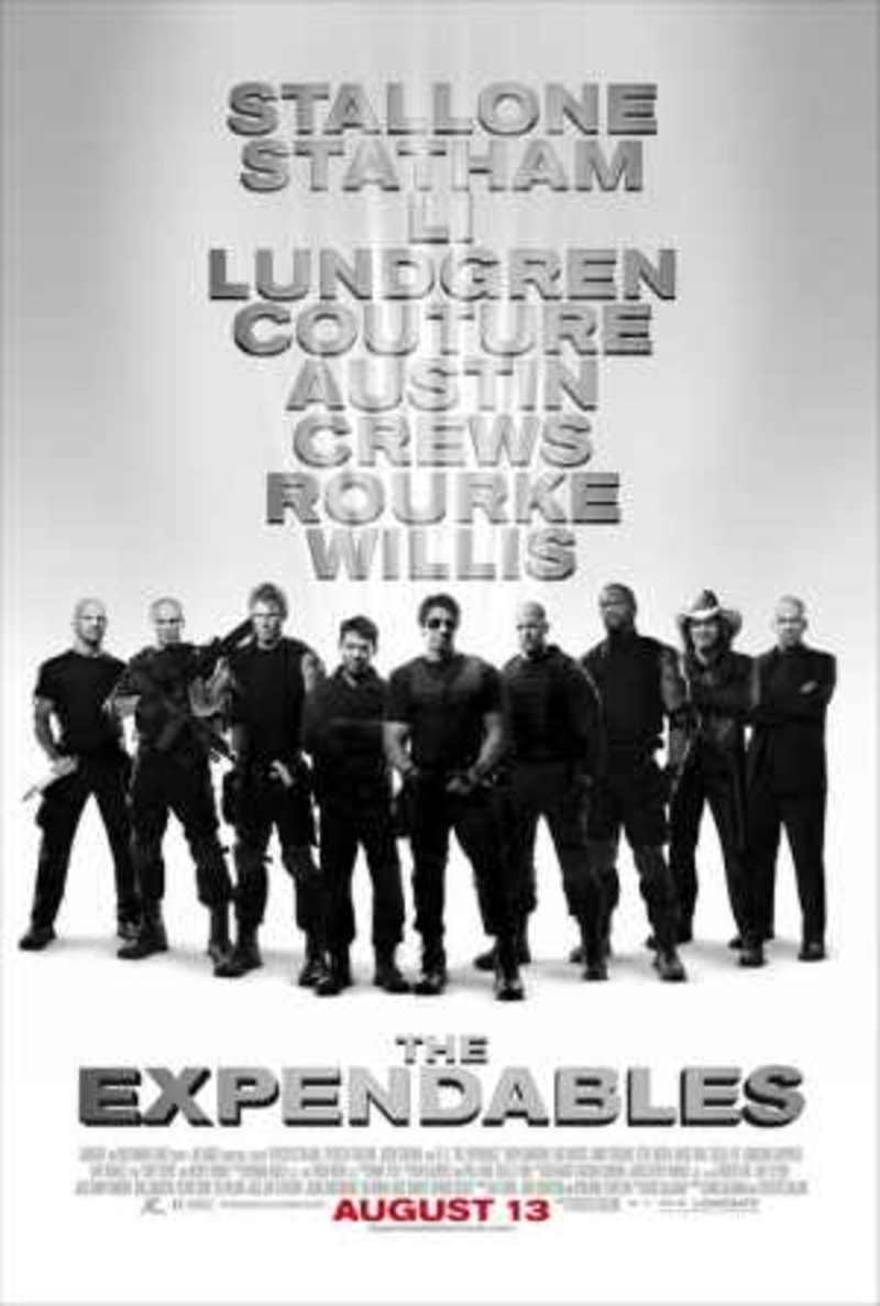 the expendables, expendables movie poster