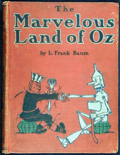 the marvellous land of oz, L. Frank Baum